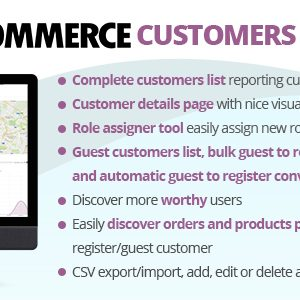 JUAL WooCommerce Customers Manager