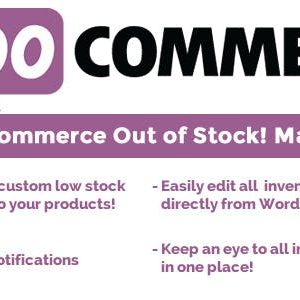 JUAL WooCommerce Out of Stock! Manager