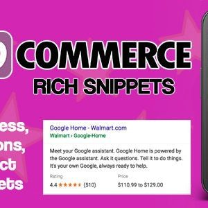 JUAL WooCommerce Rich Snippets - Local SEO & Business SEO Plugin