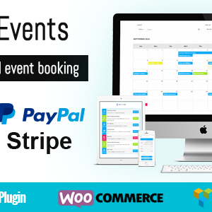 JUAL WooEvents - Calendar and Events Booking