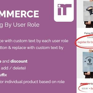 JUAL Woocommerce Dynamic Pricing By User Role