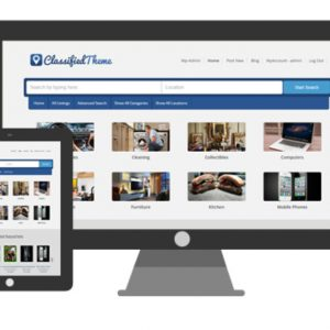 JUAL WordPress Classified Ads Theme by SiteMile