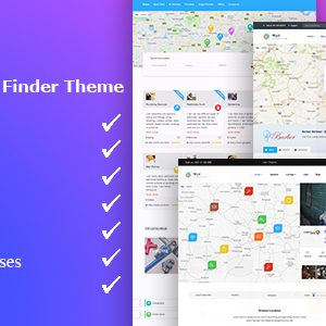 JUAL Wyzi - Business Finder and Service Provider Booking WordPress Theme