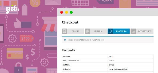 JUAL YITH WooCommerce Multi-step Checkout