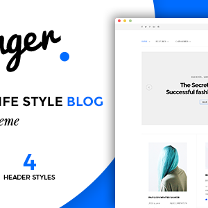 JUAL Younger Blogger - Personal Blog Theme