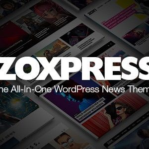 JUAL ZoxPress - All-In-One WordPress News Theme