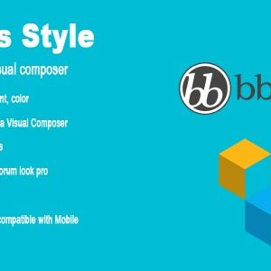 JUAL bbPress Style and shortcode for Visual composer