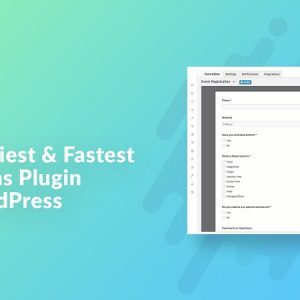 JUAL weForms - Fastest Contact Form Plugin For WordPress By weDevs