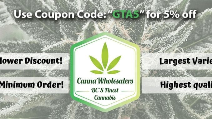 Cannawholesalers coupon code featured