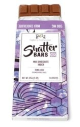 milk chocolate shatter bar from togoweed
