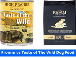 fromm vs taste of the wild