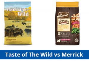 taste of the wild vs merrick