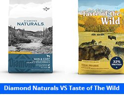 Diamond Naturals vs Taste of the Wild