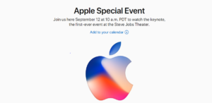 What to expect at Apple's event on September 12th 2017