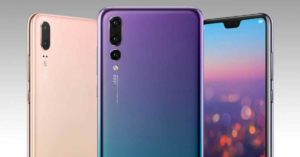 Huawei P20 with the triple camera setup launched!