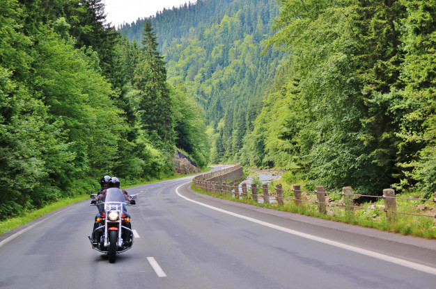 How technology makes riding motorcycle easier and more interesting.