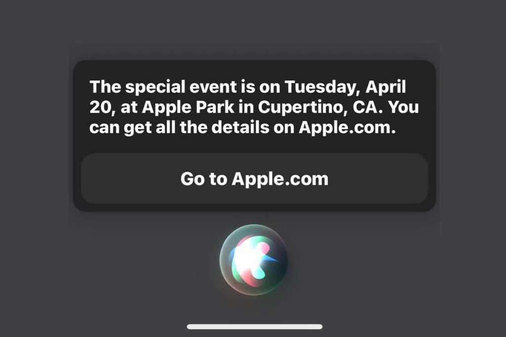 Apple's Spring Loaded event