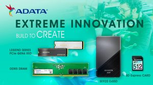 ADATA Unveils a New Lineup of Xtreme Innovations