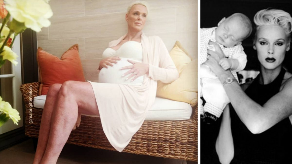 Brigitte Nielsen Welcomes Her Fifth Baby And First Daughter At 54
