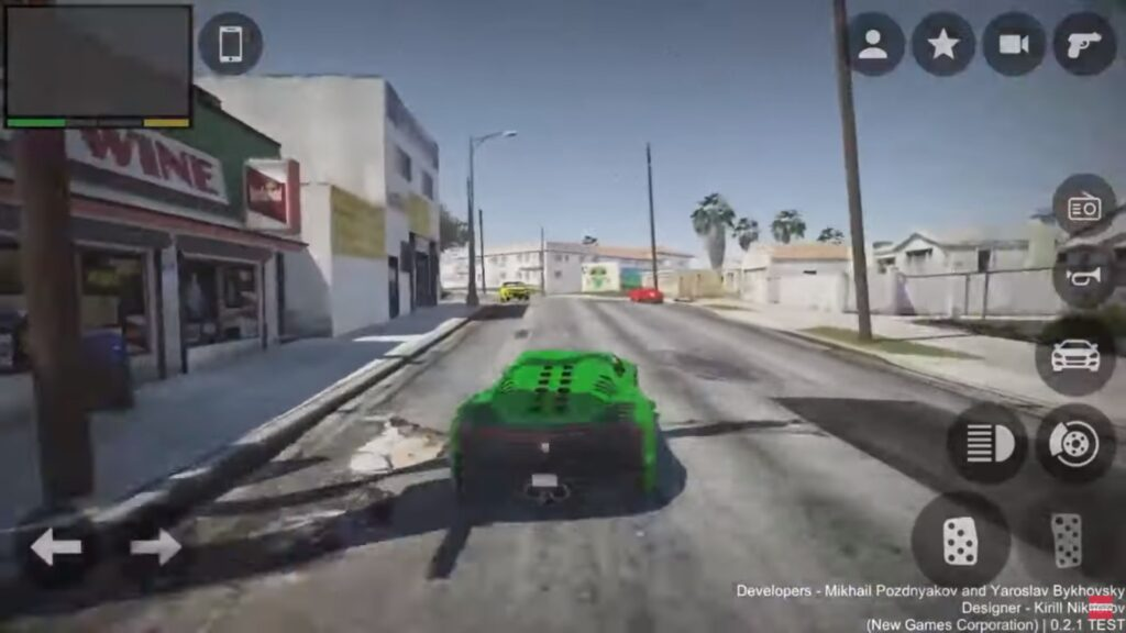 Grand Theft Auto V For Android Gameplay