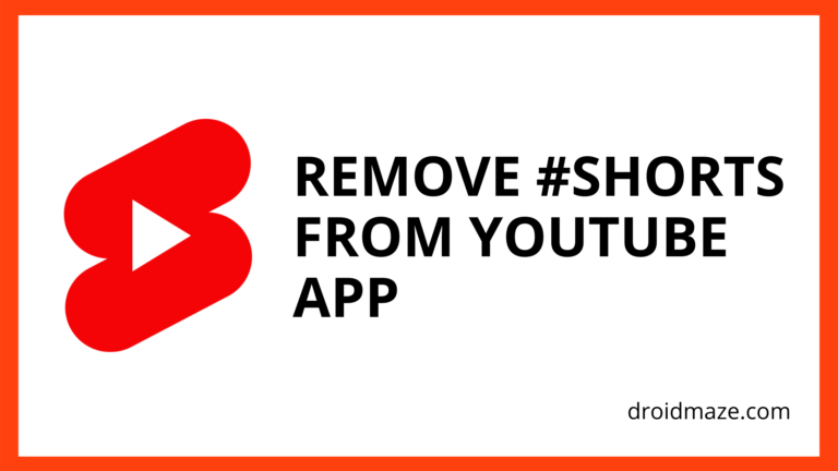 How to Remove Shorts from YouTube?