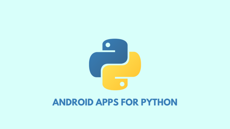 5 Android Apps for Python Programming