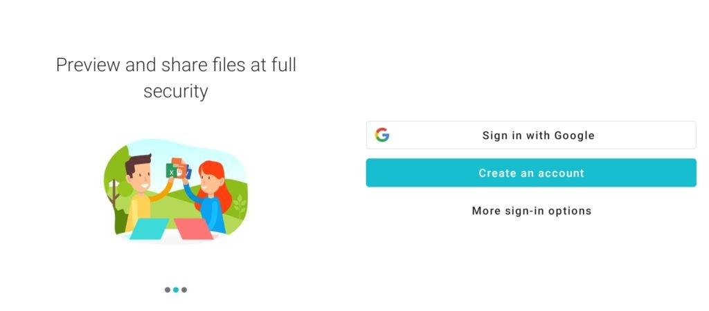 Login to pCloud Account to backup photos to pCloud on Android