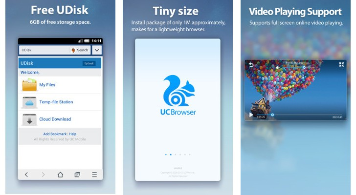 UC Mini Best Browser For Android Phone