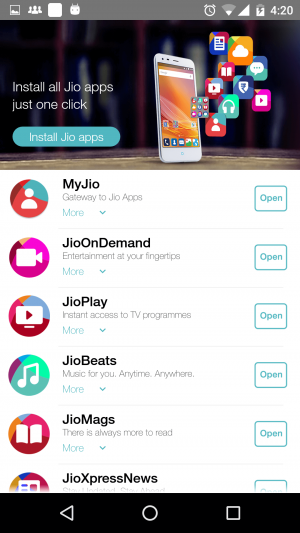 Jio Preview offer