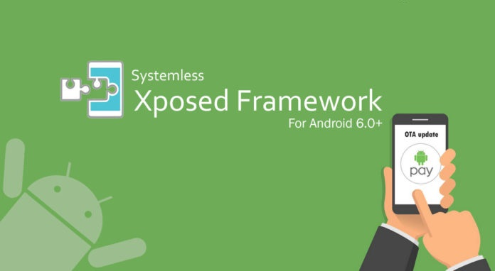 Install System-less Xposed