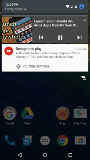 Youtube Red for Free Android