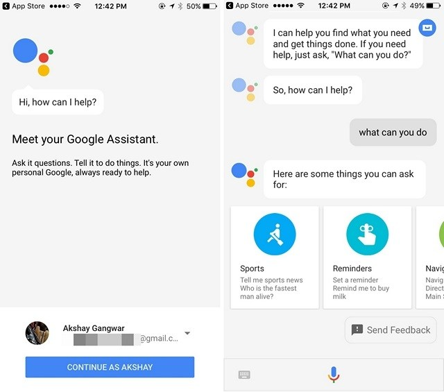 Install Google Assistant On iPhone