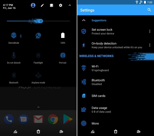 Best Substratum Themes Dark Matter Theme