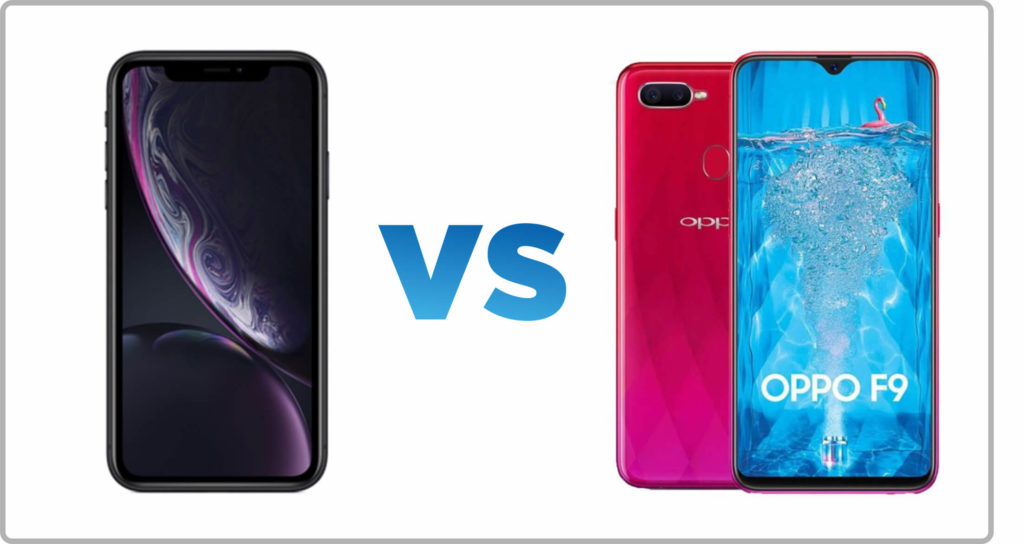 Apple iPhone XR vs Oppo F9 Compare Mobile Phones