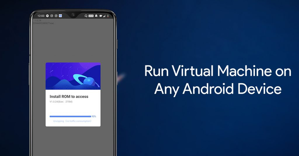 Run Virtual Android Machine