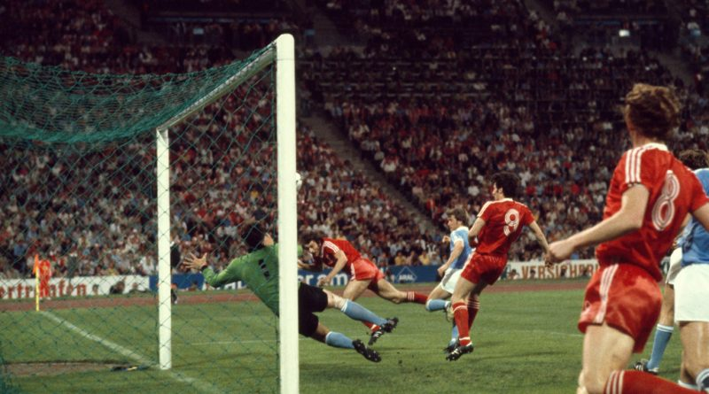 Trevor Francis scores the winning goal during the European Cup Final between Nottingham Forest and Malmö FF in 1979 (Copyright: The Economist)
