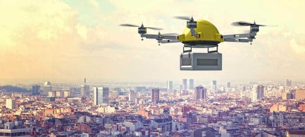 Why Are Delivery Drones Taking Off?