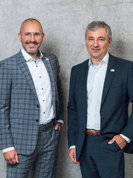 Co-CEOs Volker Bloechl (r.) and Bjoern Dunkel want to make successful companies even more successful.
