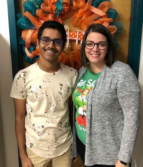 Take Stock in Children student Ankit Patel and his mentor