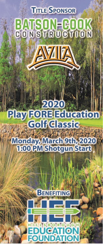 Play FORE Education Golf Classic Cover
