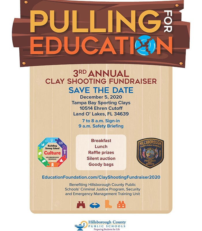 Pull for Education Clay Shooting Fundraiser Save the DAte