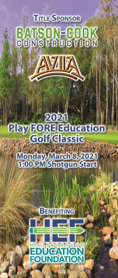 2021 HEF Play FORE Education Golf Classic
