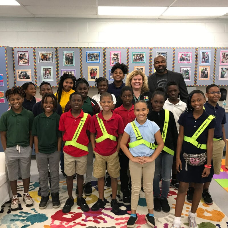 2019 CEOs in Schools Participants at Potter Elementary