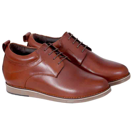 Elevato Height Increasing Leather Casual Shoes