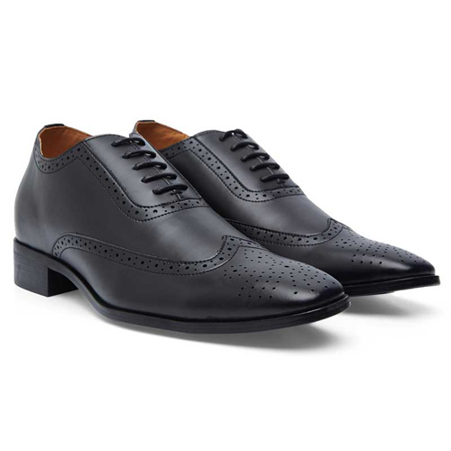 Elevato Height Increasing Formal Derby Shoes