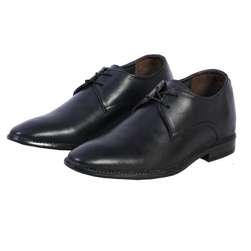 Elevato Height Increasing Black Formal Dress shoes 3 Inches