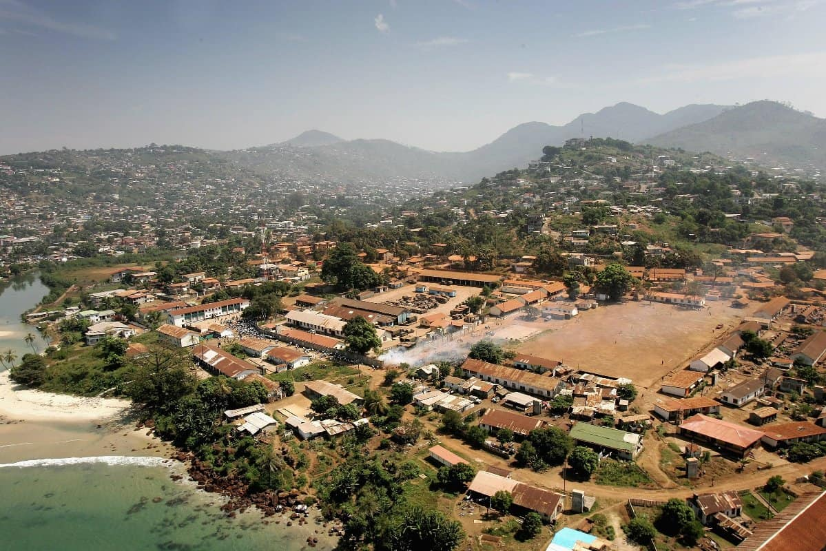 Sierra Leonian's Survive In One Of The Worlds Poorest Countries