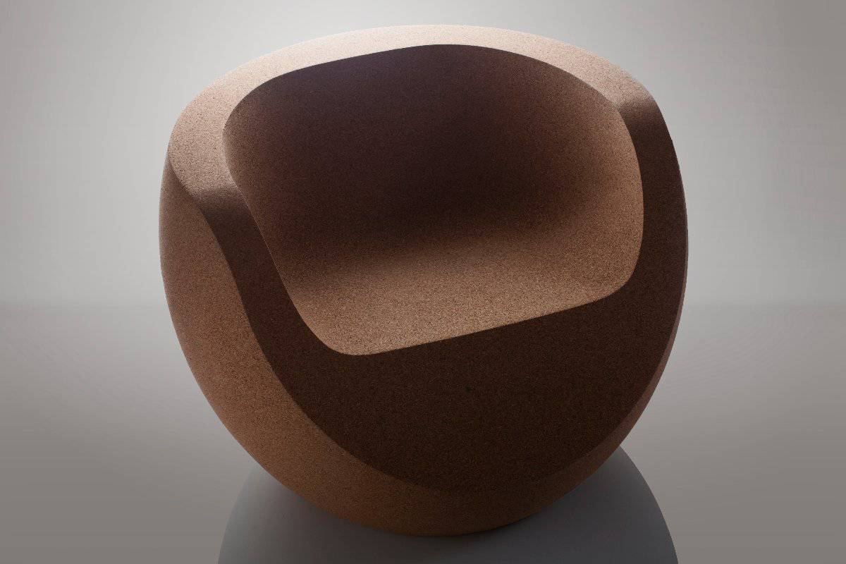3. Simple Forms Design-Moon Chair