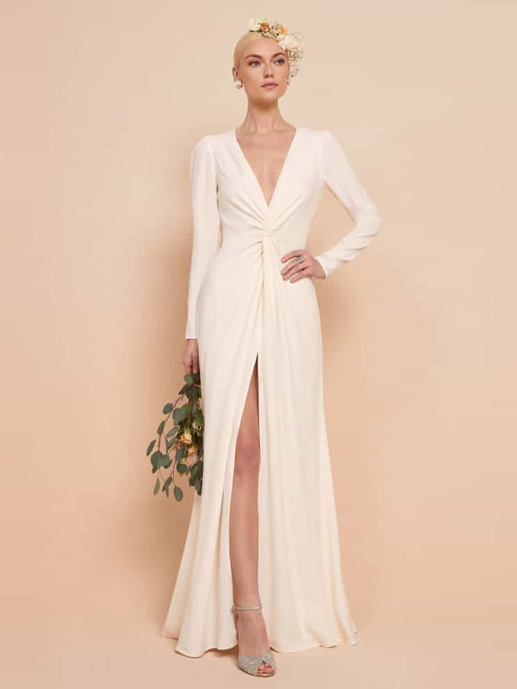 reformation bridal gown