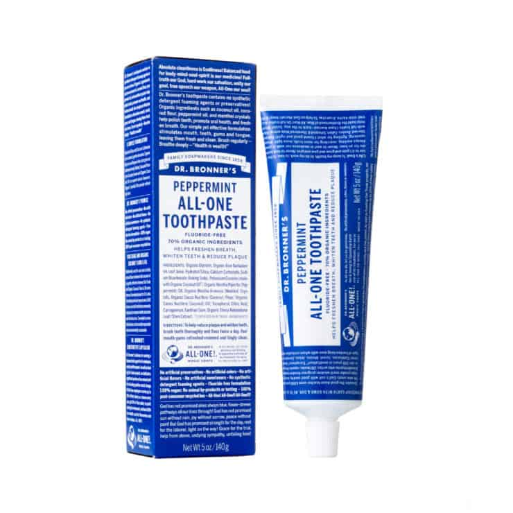 best fluoride free and natural toothpastes